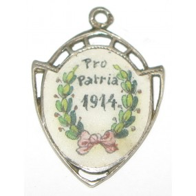 k. u. k. Patriotischer Ketterlanhänger,  PRO PATRIA 1914