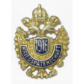k. u. k. Patriotisches Abzeichen, Kriegspatenschaft 1916