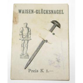 Wehrmann im Eisen WAISEN - GLÜCKSNADEL