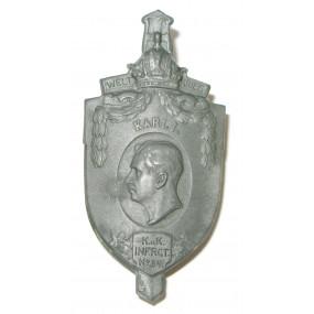 K. u. K. Kappenabzeichen, Infanterie Regiment Nr. 84 Karl I.