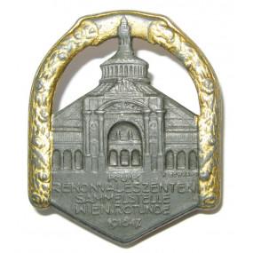 Kappenabzeichen, K.U.K. REKONVALESZENTEN SAMMELSTELLE WIEN ROTUNDE 1916 - 17.