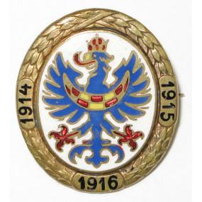 Offizielle Kriegsfürsorge Herzogtum Krain 1914-1915-1916
