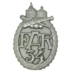 k. u. k. Kappenabzeichen, FAR 34