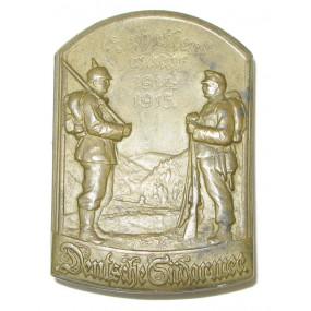k. u. k. Kappenabzeichen, Karpathenwacht 1914-1915