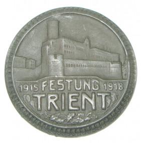 k. u. k. Kappenabzeichen, FESTUNG TRIENT 1915 - 1918