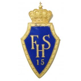 k. u. k. Kappenabzeichen, Husaren Regiment 15 Franz Salvator FSH 15