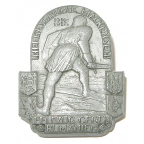 k. u. k. Kappenabzeichen, HEERESGRUPPE MACKENSEN FELDZUG GEGEN RUMÄNIEN 1916-1917