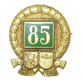 k. u. k. Kappenabzeichen, Infanterieregiment 85