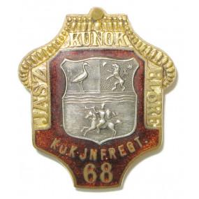 k. u. k. Kappenabzeichen, IR 68