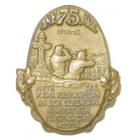 k. u. k. Kappenabzeichen, INF. RGT. 75