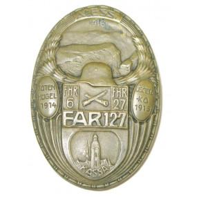 k.u.k. Kappenabzeichen, FAR 127 1914 – 1915 – 1918 ALESSI
