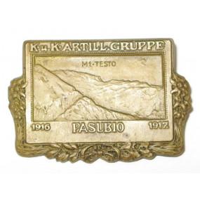 k. u. k. Kappenabzeichen, ARTILLERIEGRUPPE PASUBIO 1916 - 1917