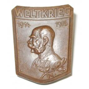 k. u. k. Kappenabzeichen, WELTKRIEG 1914 - 1916