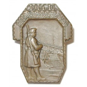 k.u.k. Kappenabzeichen, EISENBAHNSICHERUNG 1914 - 16