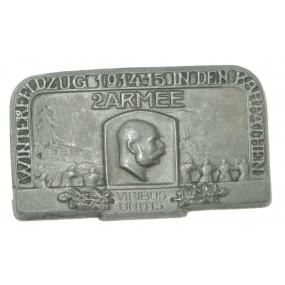 k. u. k. Kappenabzeichen, Winterfeldzug der 2. Armee, Karpathen 1914-15