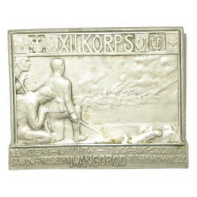 k. u. k. Kappenabzeichen, XII. KORPS Lemberg-Iwangorod