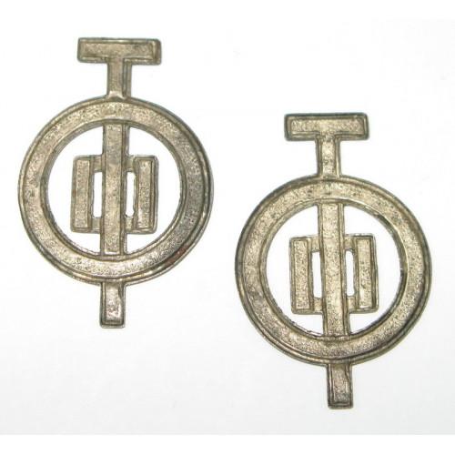 k. u. k. Kragenabzeichen, Infanterie Geschütz Abteilung