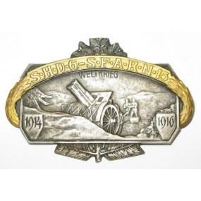 k. u. k. Kappenabzeichen, 1914 - 1916 S.H.D.6 - S.F.A.R.N. 15