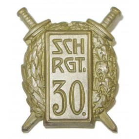 k. u. k. Kappenabzeichen, SCH. RGT. 30