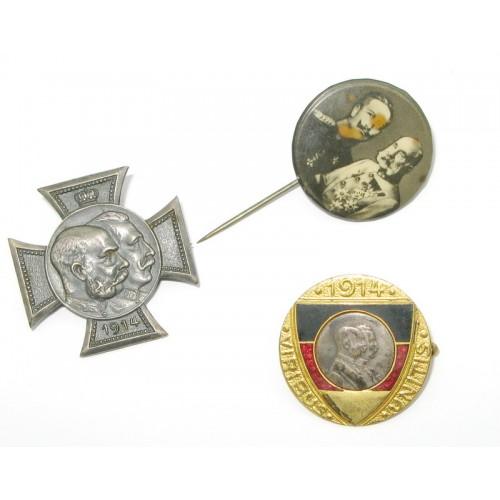 k.u.k. Monarchie, 3 patriotische Abzeichen