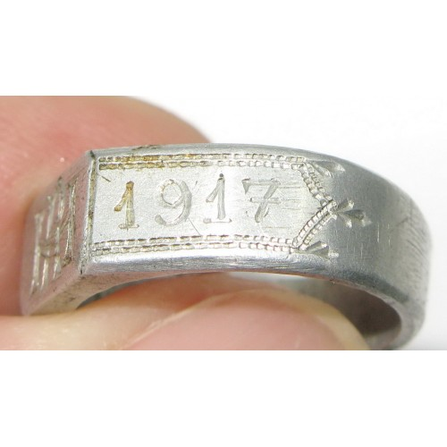 k. u. k. patriotischer Fingerring, 1914-1917