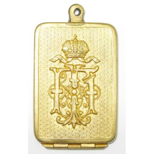 k. u. k. Legitimationskapsel für Offiziere  Kaiser Franz Joseph I.