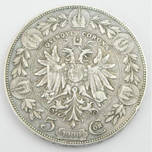 Kaiser Franz Josef I. 5 Kronen 1900