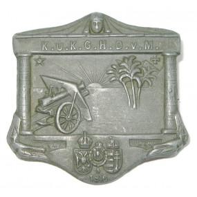 Kappenabzeichen, k. u. k. Gebirgshaubitze Division von Marno 1916