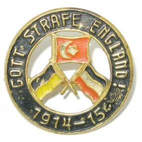 k. u. k. Propaganda Spottabzeichen, GOTT STRAFE ENGLAND 1914 - 1915