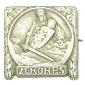 k. u. k. Kappenabzeichen, 21. KORPS 1916