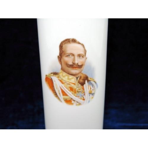 Patriotische Vase Kaiser Wilhelm II.