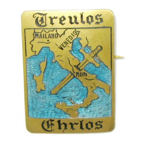 k. u. k. Patriotisches Abzeichen, Italien - Treulos - Ehrlos