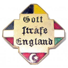 k. u. k. Patriotisches Abzeichen, Gott strafe England