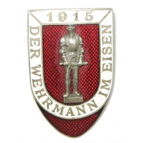 k. u. k. Patriotisches Abzeichen, DER WEHRMANN IM EISEN 1915