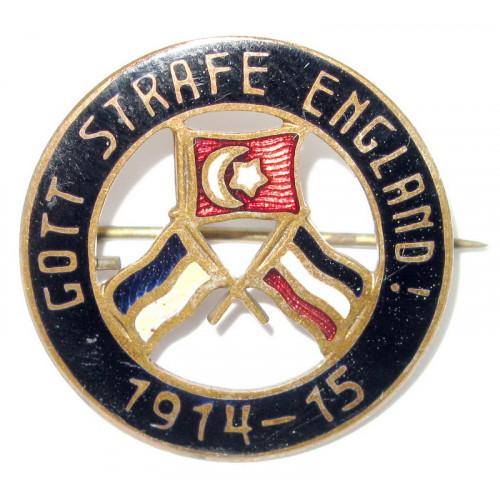 k. u. k. Patriotisches Abzeichen, Gott strafe England 1914 - 15