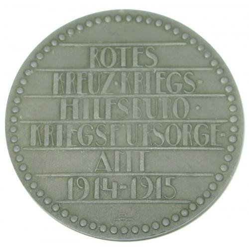 k. u. k. Rotes Kreuz - Kriegshilfsbüro - Kriegsfürsorgeamt 1914 - 1915 Untersee
