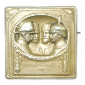 k. u. k. Kappenabzeichen, VIRIBUS UNITIS 1915