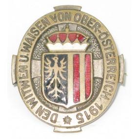 k.u.k. Patriotisches Abzeichen, Den Witwen und Waisen gefallener Krieger Oberösterreich 1915