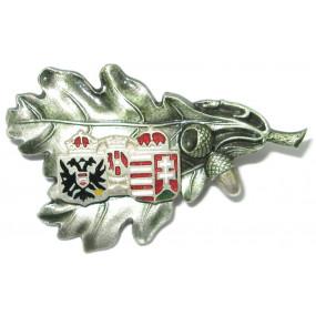 k.u.k. Patriotisches Abzeichen, österr. - ungarisches Wappen