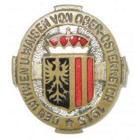 k.u.k. Patriotisches Abzeichen, Den Witwen und Waisen von Oberösterreich 1915