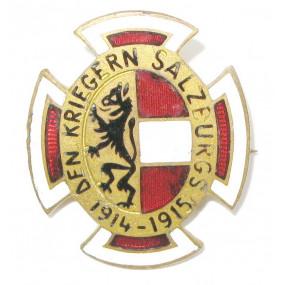 k.u.k. Patriotisches Abzeichen, Den Kriegern Salzburgs 1914 - 1915