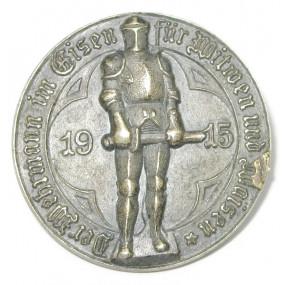 k.u.k. Patriotisches Abzeichen, Der Wehrmann im Eisen für Witwen und Waisen 1915