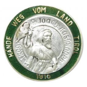 k. u. k. Patriotisches Abzeichen, HÄNDE WEG VOM LAND TIROL 1916