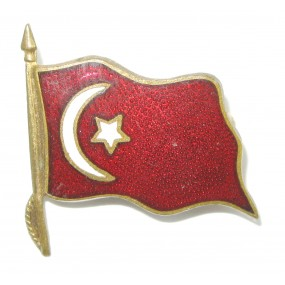 I. Weltkrieg Patriotisches Abzeichen, Türkische Fahne