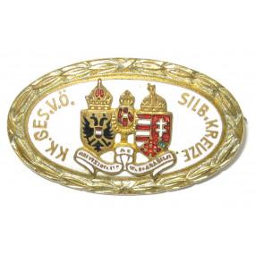 k. u. k. Patriotisches Abzeichen, k.k. Ges. v. österr. silbernem Kreuze