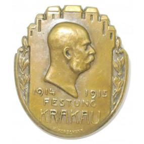 k. u. k. Kappenabzeichen, Festung KRAKAU 1914-1915