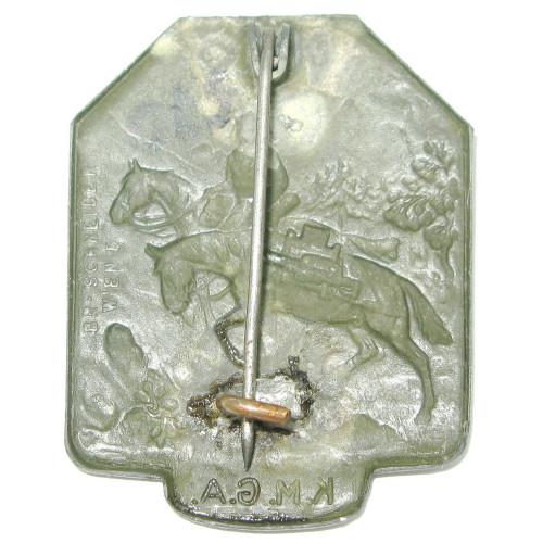 k. u. k. Kappenabzeichen, K.M.G.A. Kavallerie-Maschinengewehr Abteilung