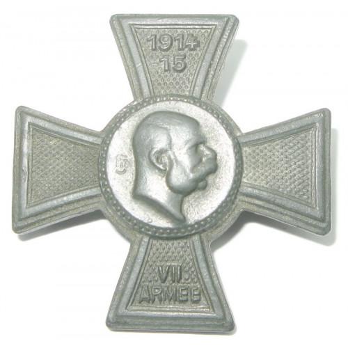 k. u. k. Kappenabzeichen, VII. ARMEE 1914-1915