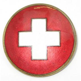k. u. k. Monarchie Weißes Kreuz Brosche