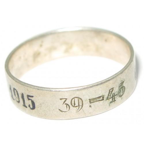 Patriotischer Ring, Weltkrieg 1914-1915/1939-1945
